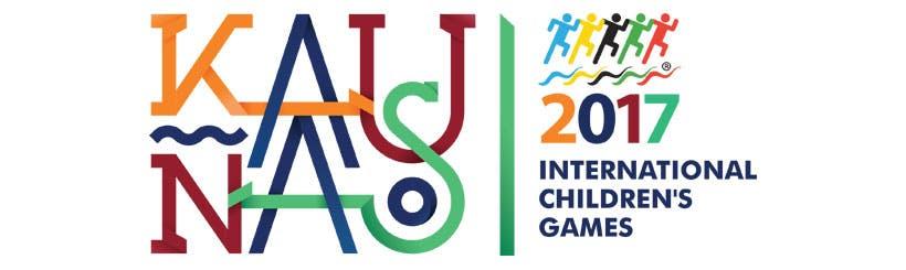 Logo fyrir International Children´s Games Kaunas
