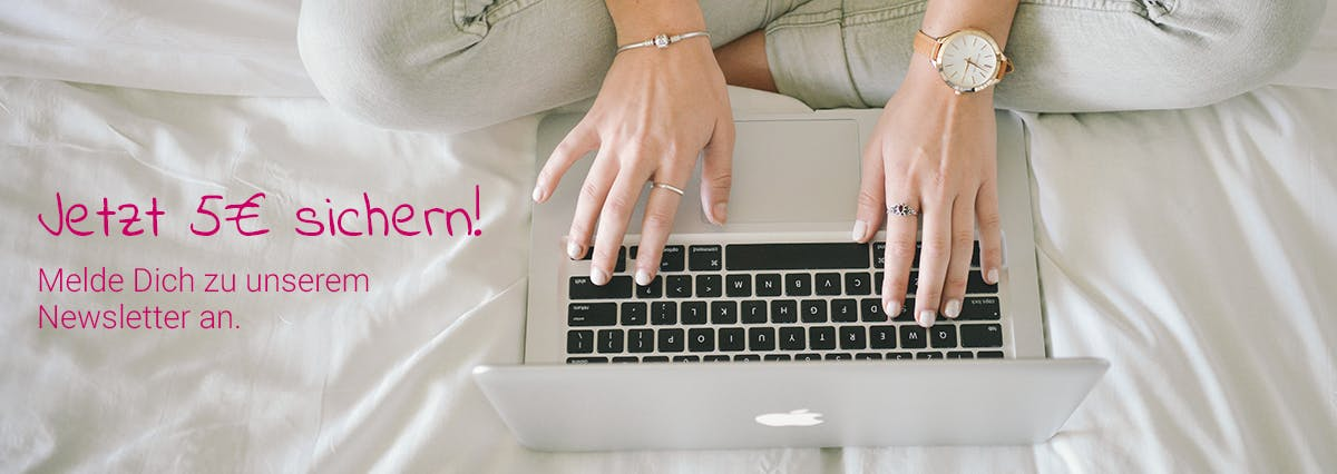 Zum Newsletter anmelden und Gutschein sichern