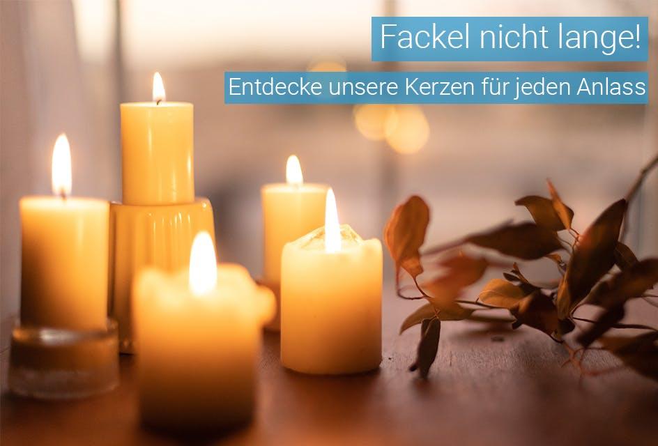 Kerzen für jeden Anlass