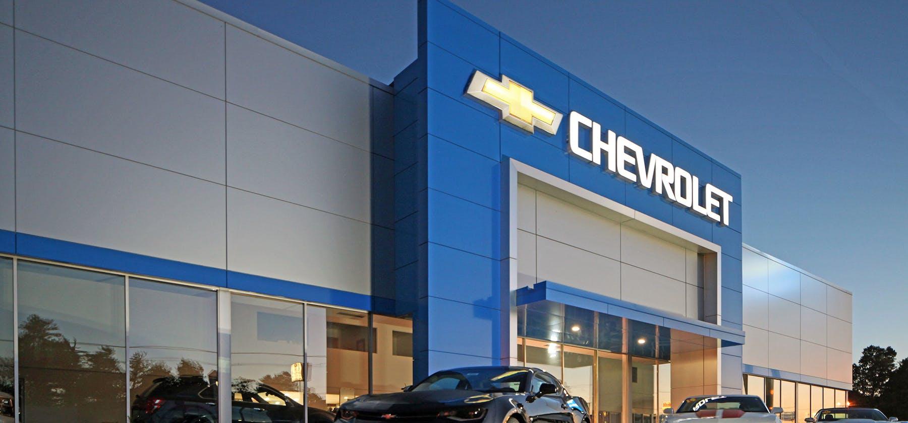 Frei Chevy exterior