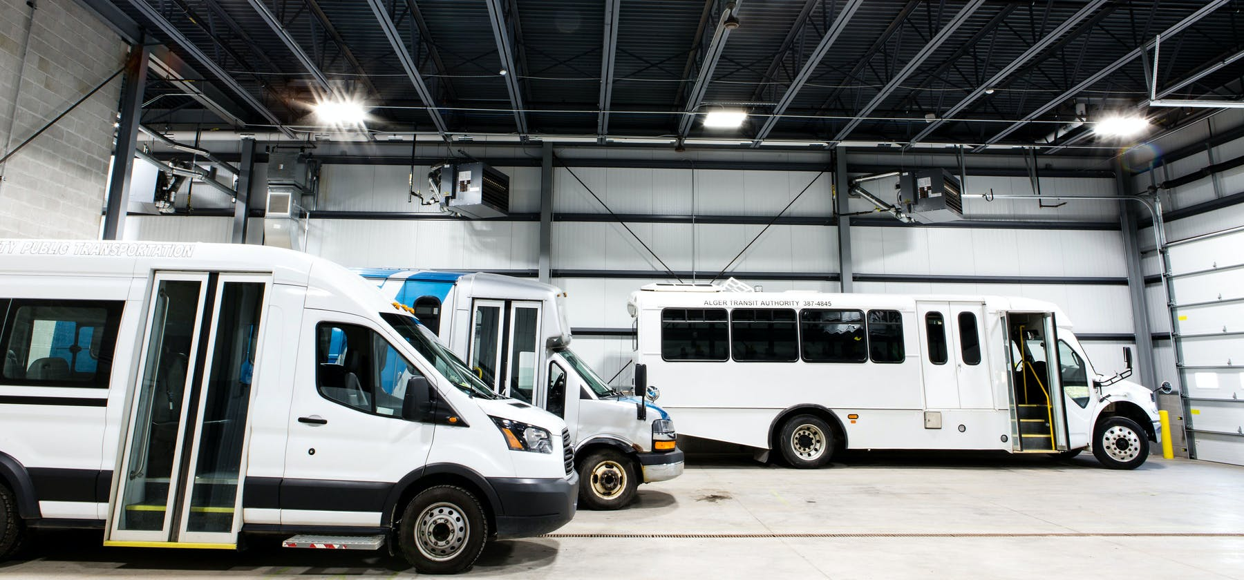 Altran interior with multiple buses