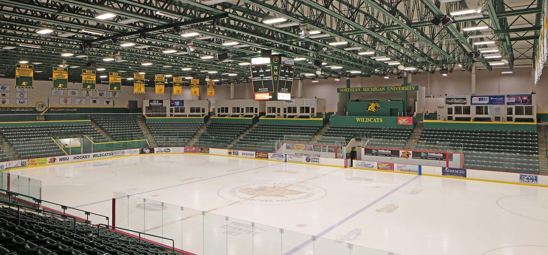NMU Berry Events Center interior