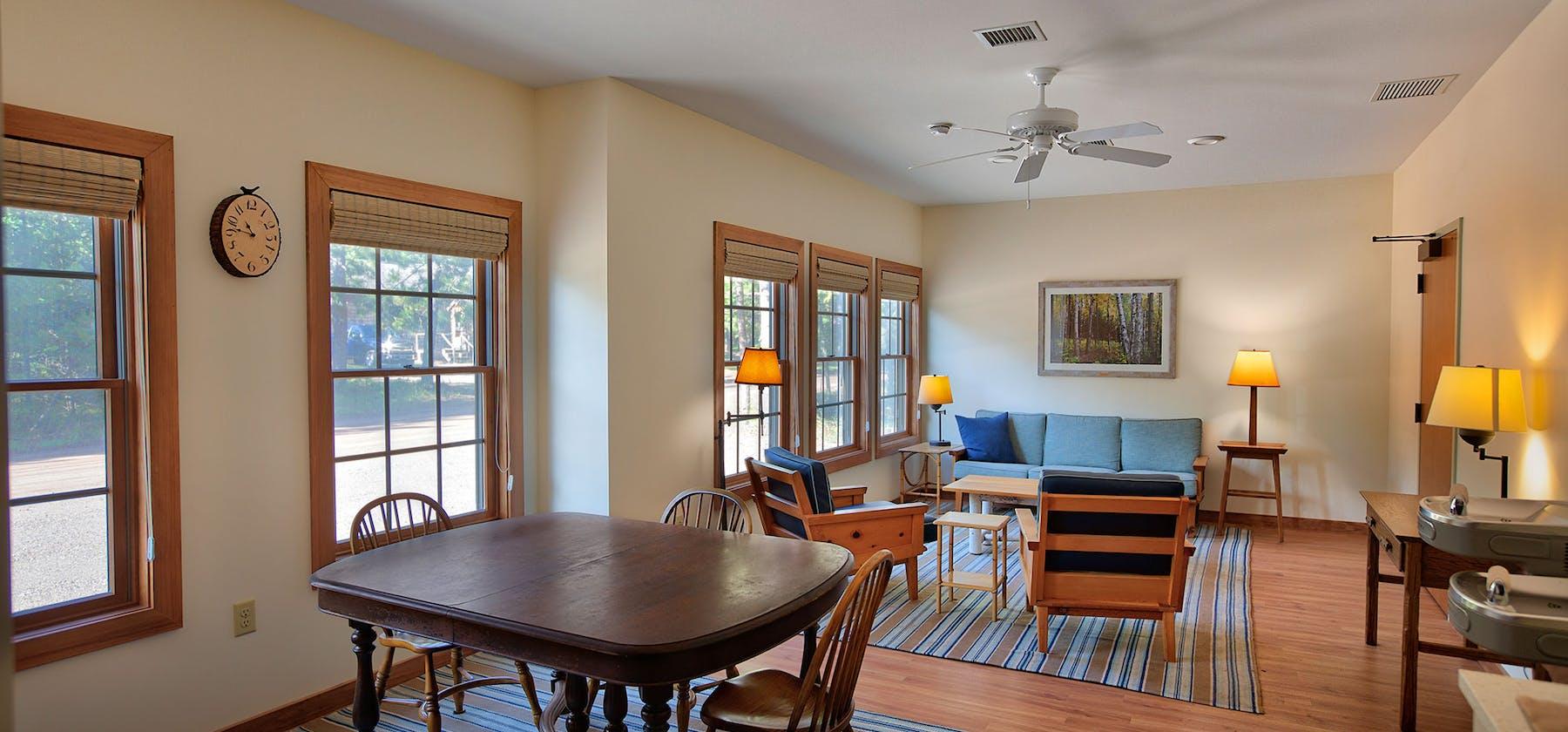 Huron Mountain Club dormitory interior