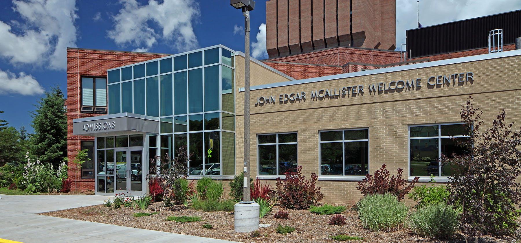 MTU Welcome Center exterior