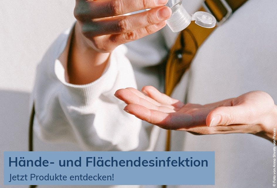 Hand- und Flächendesinfektion