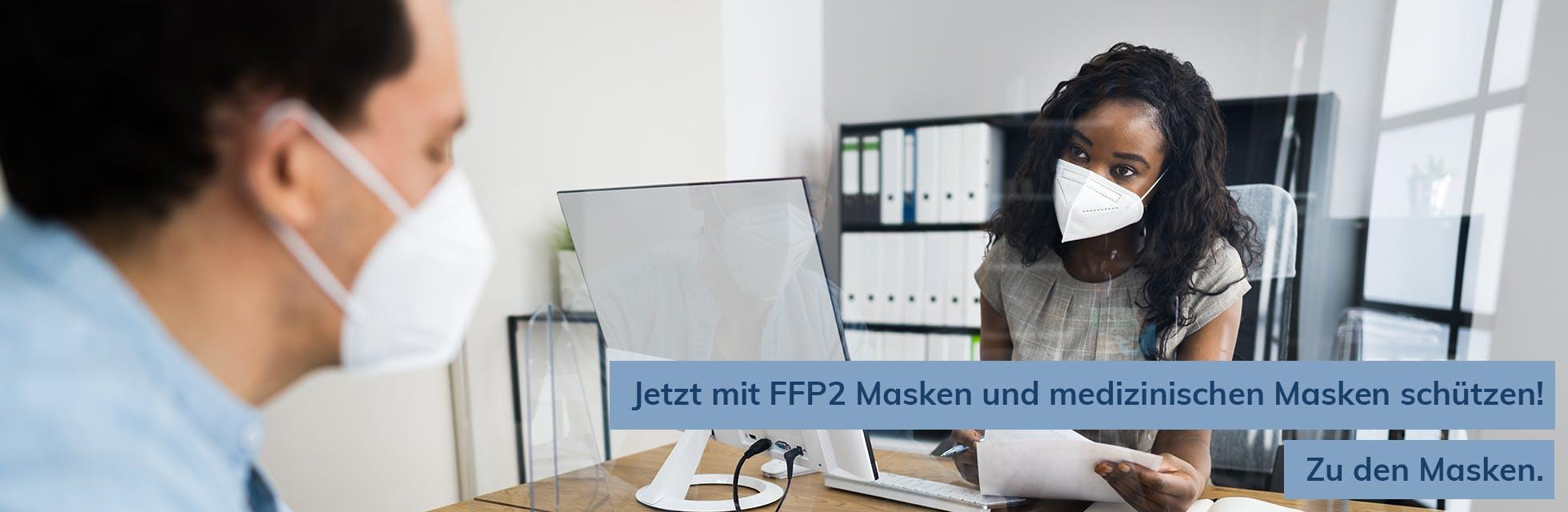 Maskenschtz FFP2 und OP-Masken