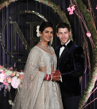 The grand wedding ceremonies of NickYanka