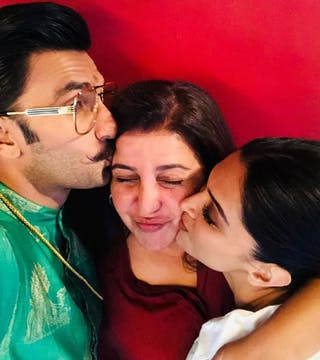Farah Khan's Personalized Gift To Ranveer & Deepika Was Indeed Special!