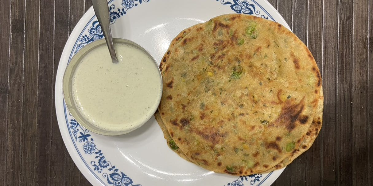 Aaloo Parantha (Potato Stuffed Flatbread)