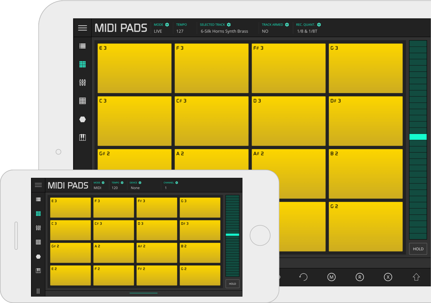 Lk Ableton Live Midi Controller For Ios And Android Imaginando