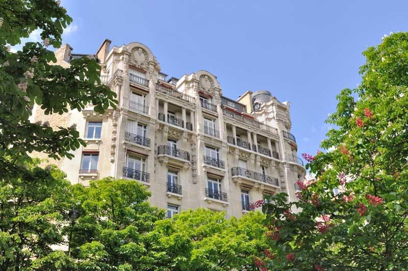Evolution des prix immobiliers parisiens