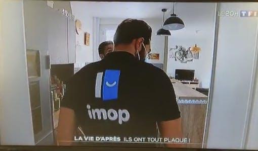 Damien David d'imop sur TF1