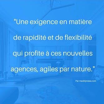agence immobiliere, rapidité, flexibilité, efficacité