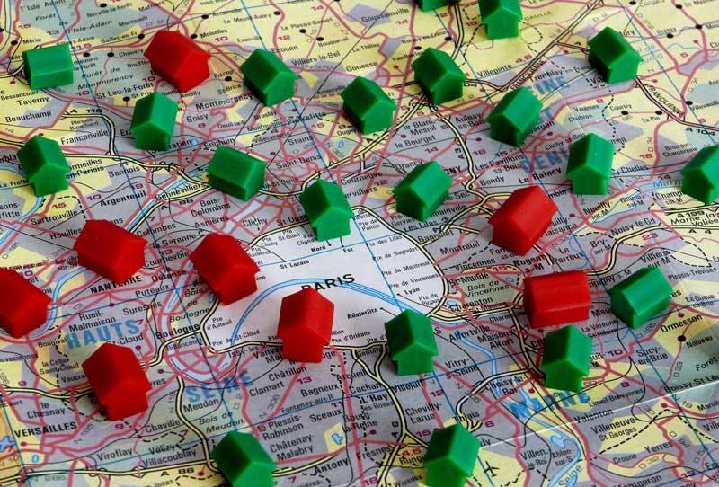 Villes autour de Paris aux prix immobiliers aussi chers que dans Paris intra-muros