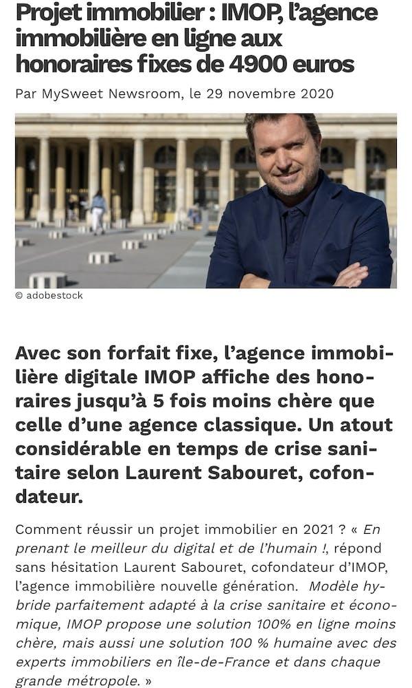 Laurent Sabouret Imop