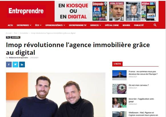 Laurent Sabouret Damien David entreprendre