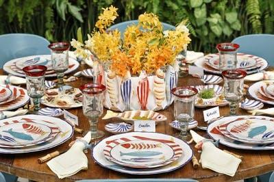 Mesa de Jantar Tradicional Verão