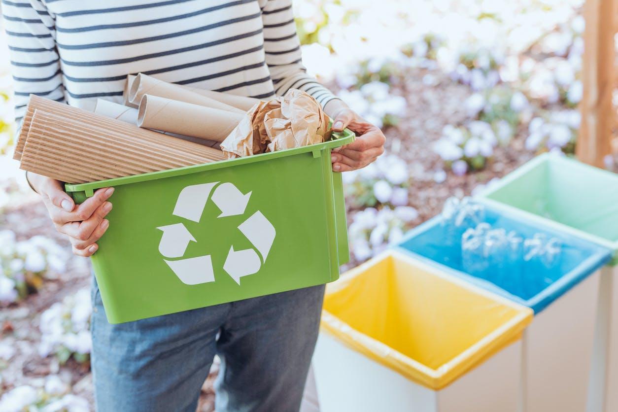 Esta é a forma correta de fazer reciclagem em casa
