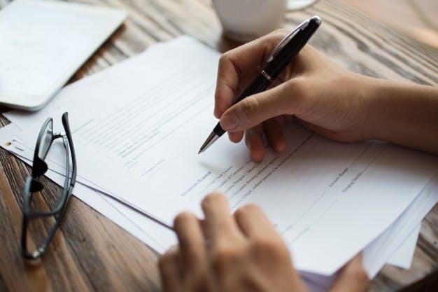 Documentos e regularização da situação