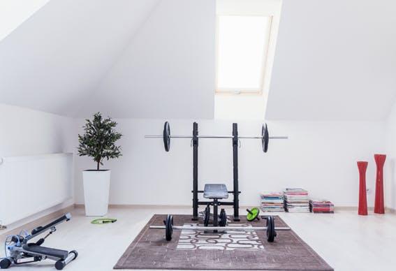 Tudo o que precisa para criar o seu ginásio em casa
