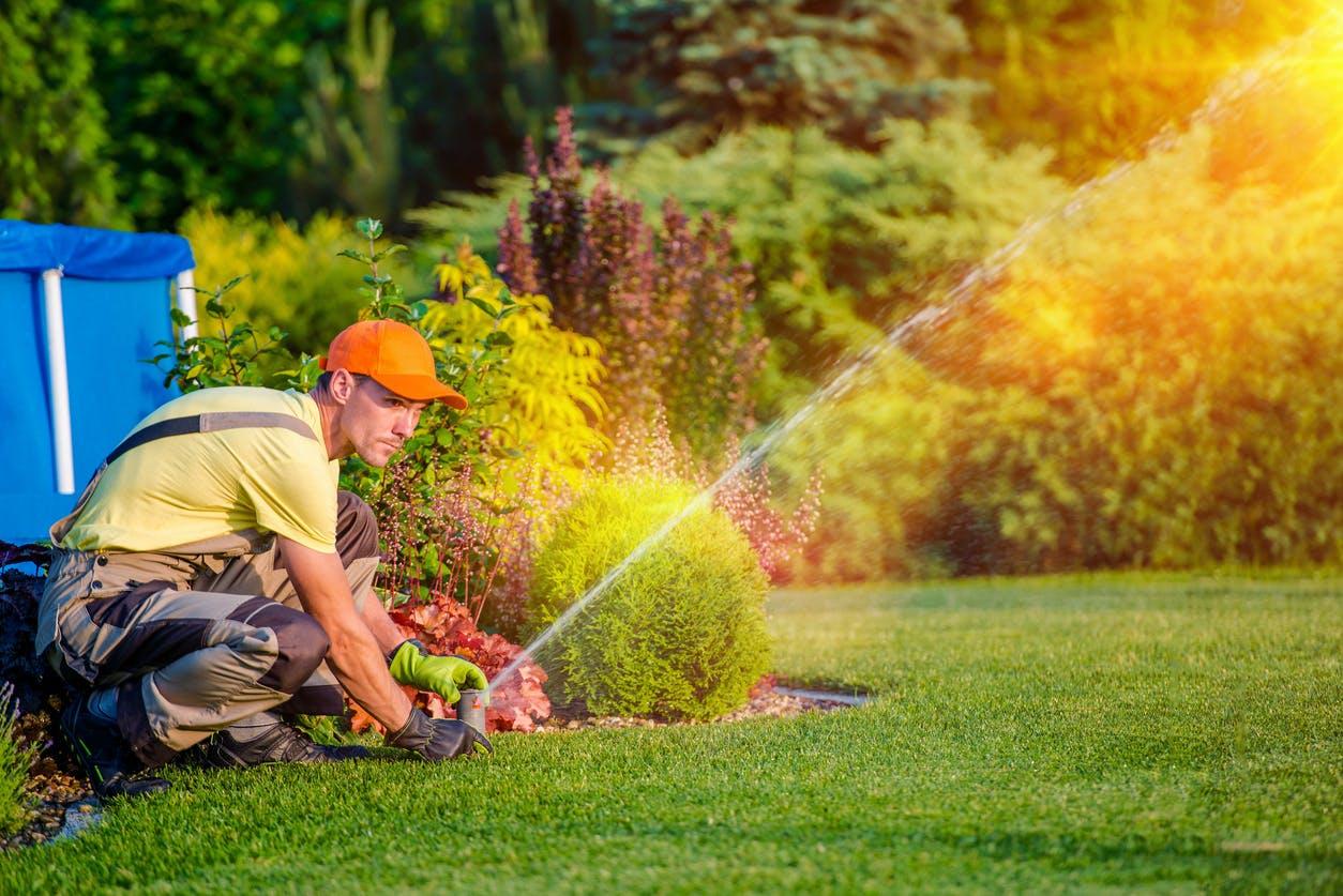Tipos de sistema de rega para o jardim