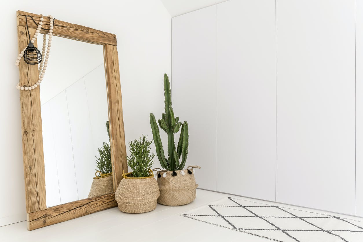 Coloque os espelhos nos melhores locais da sua casa