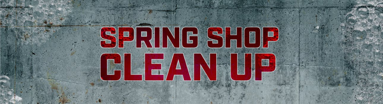 clean your mechanic working area
