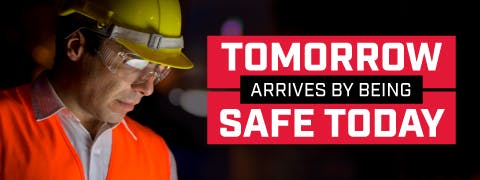 Tomorrow Arrives by Being Safe Today