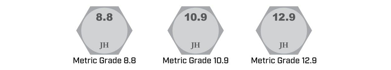 Metric Hex Bolt Identification