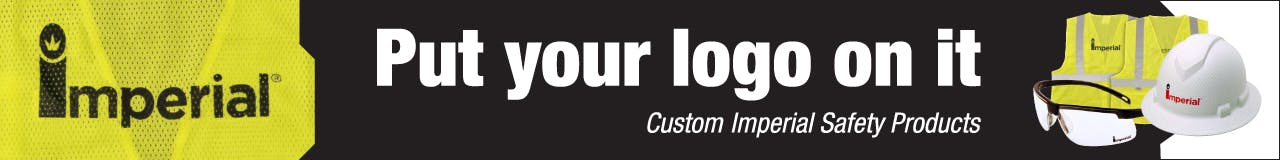 Custom Logo Safety Program Banner