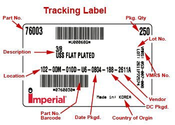 Tracking Label