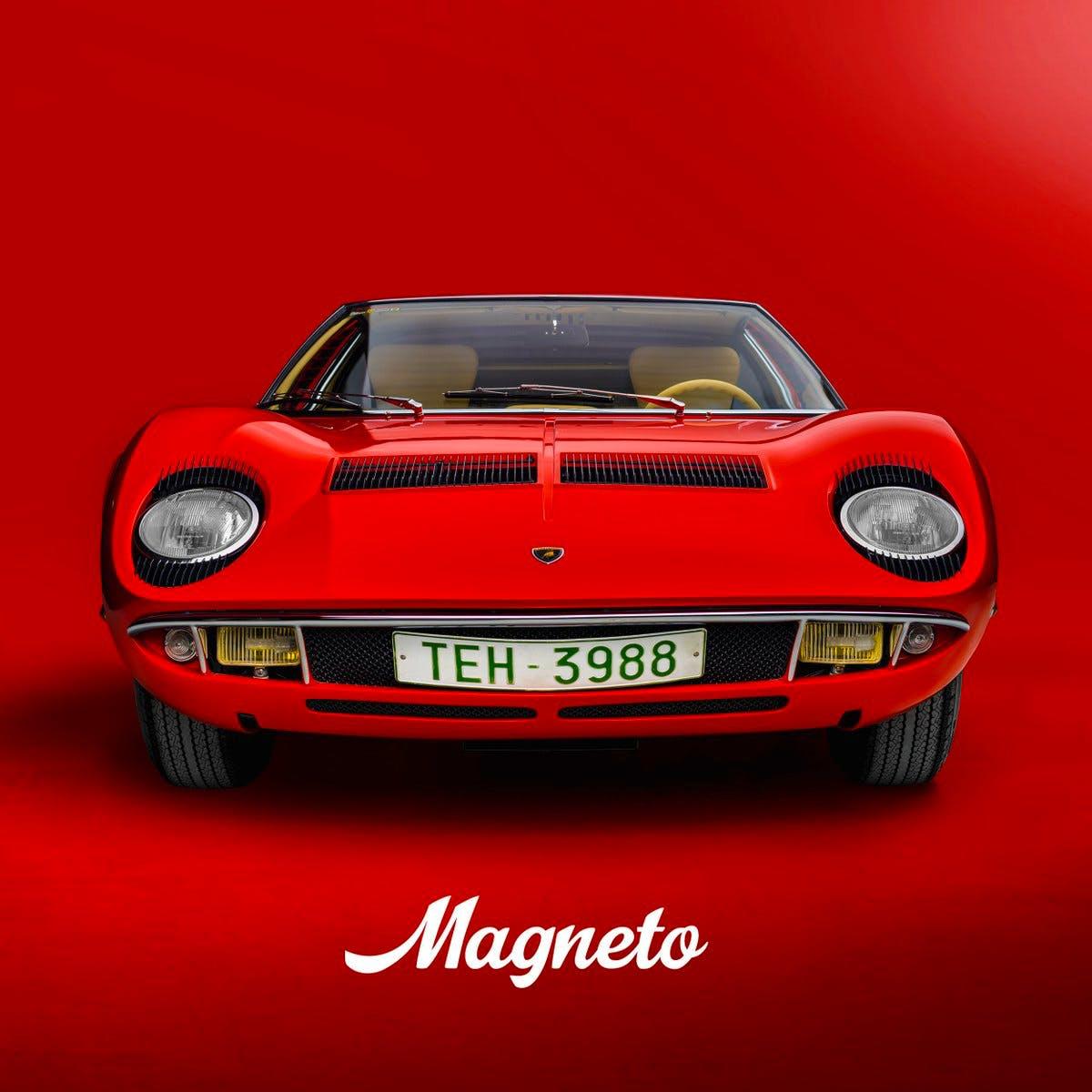 Magneto Magazine Cover