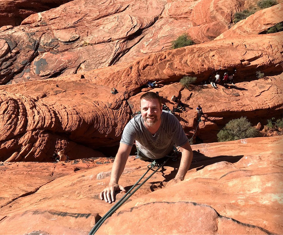 Thomas Rock Climbing