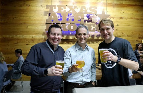 Stakeholders at TAP Brewery