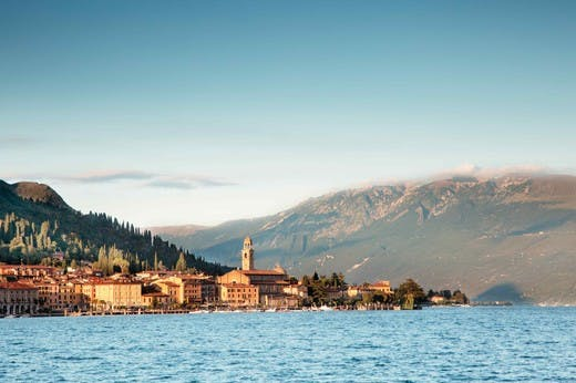 View from Brescia, with Garda Lake and mountains, is a must-visit on this North Italy Road Trip