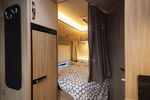 Atlas Model's double bed