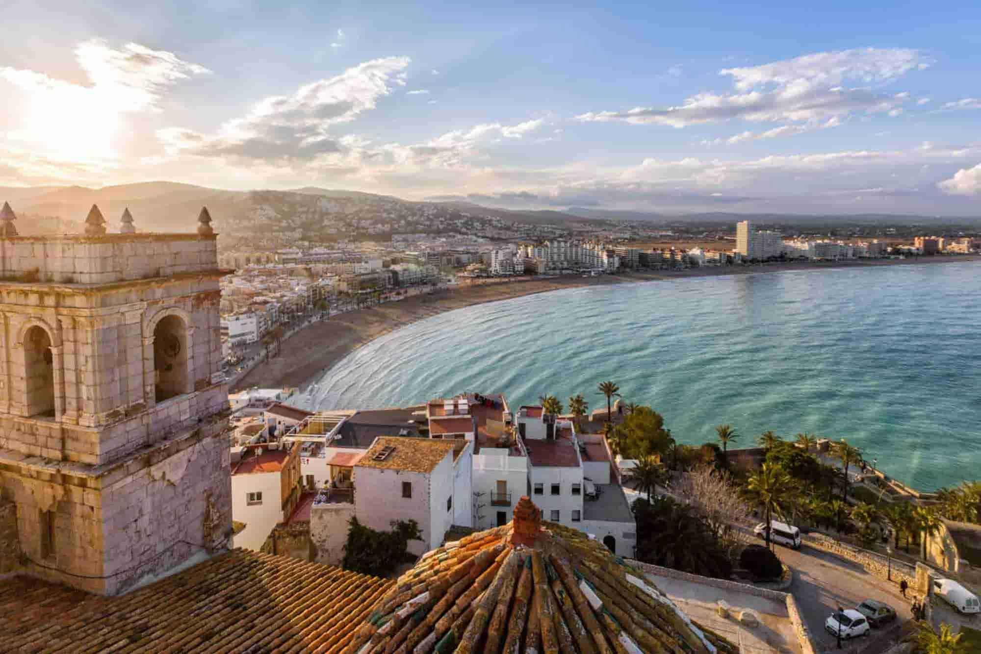 Beautiful city landscape of Valencia