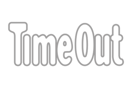 Time Out Logo in grey scale