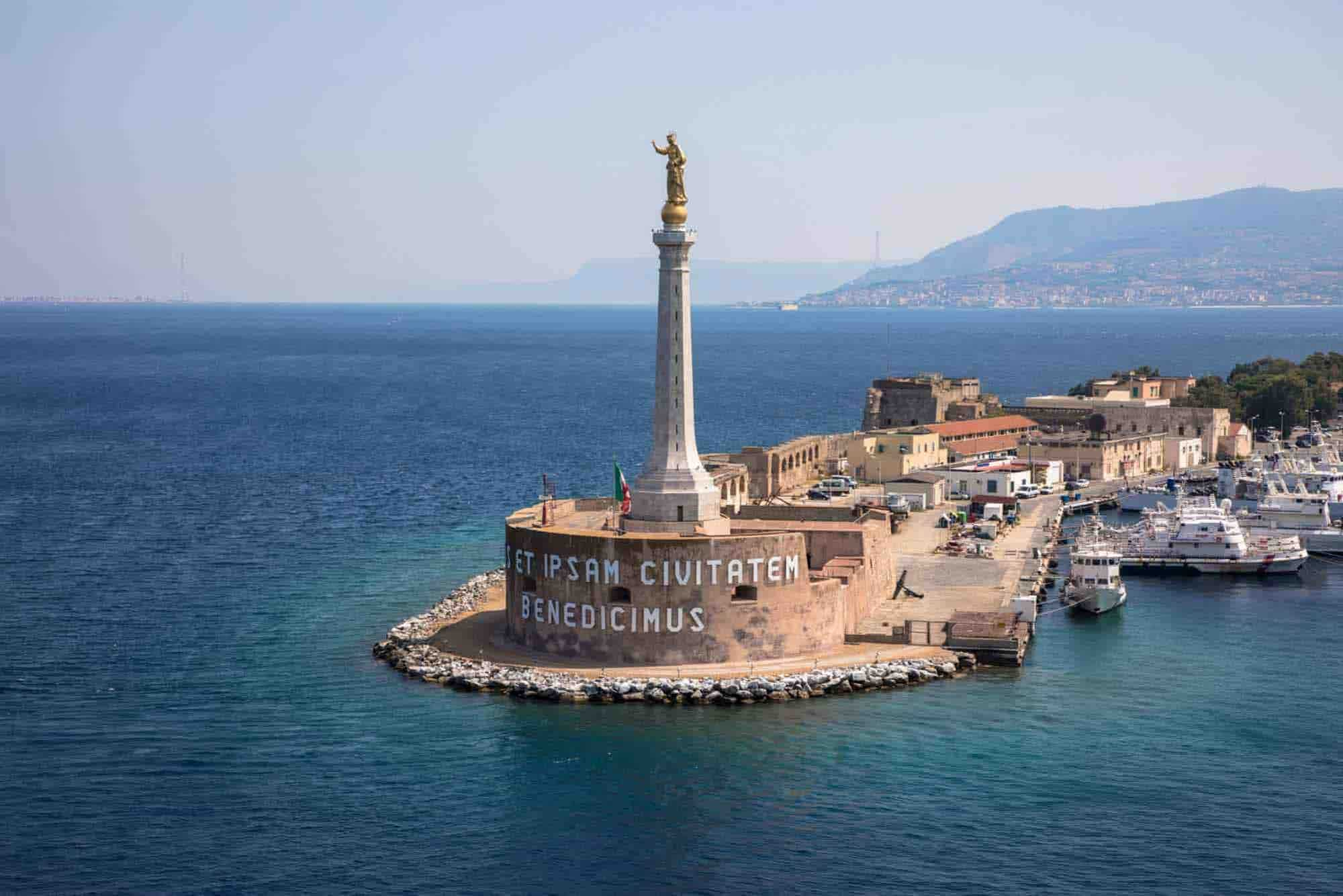 Messina on the tip of Sicily is the second stop on your Sicily road trip