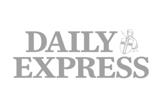 Daily Express logo in grey scale