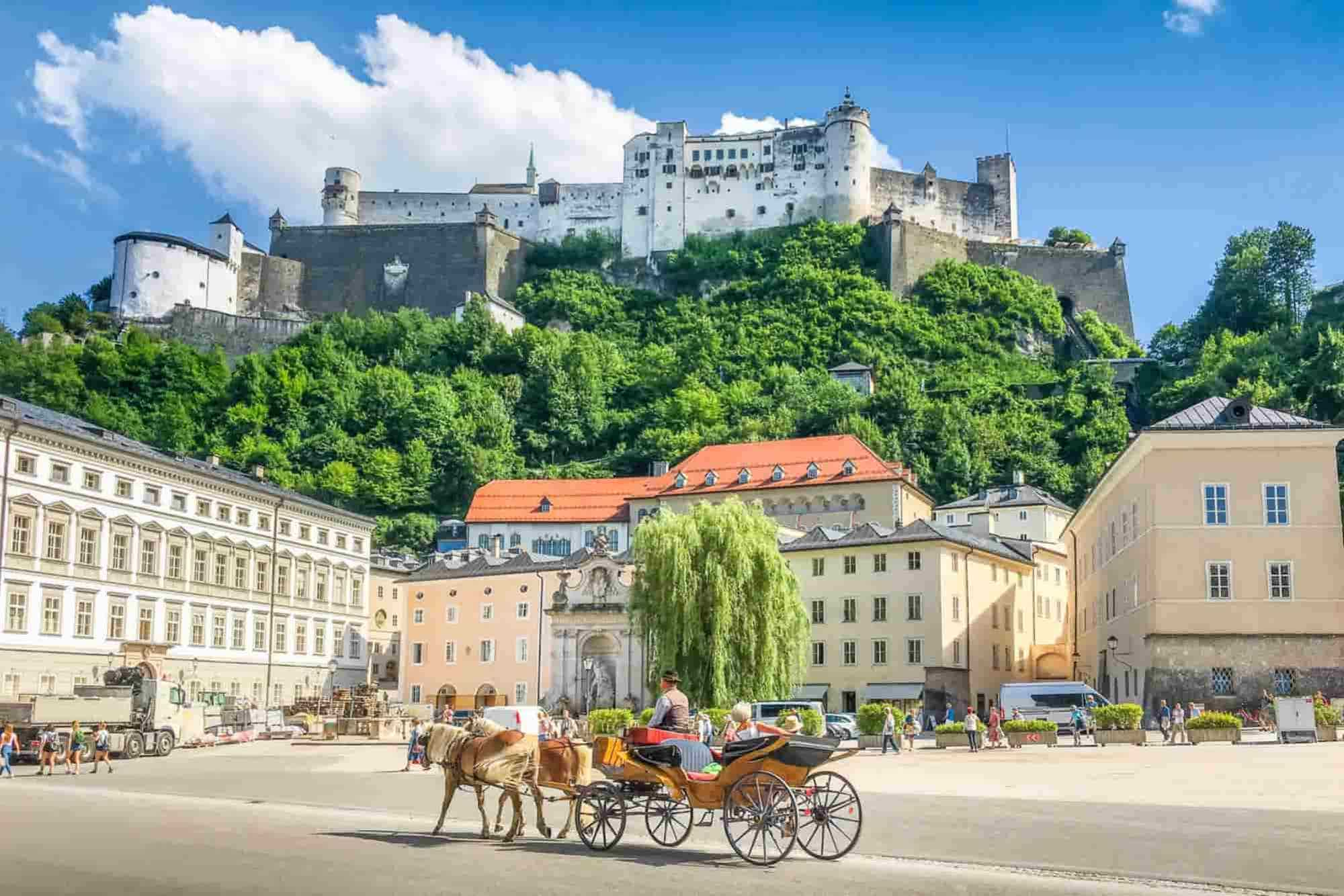 A classic stop on any Bavaria road trip is Salzburg