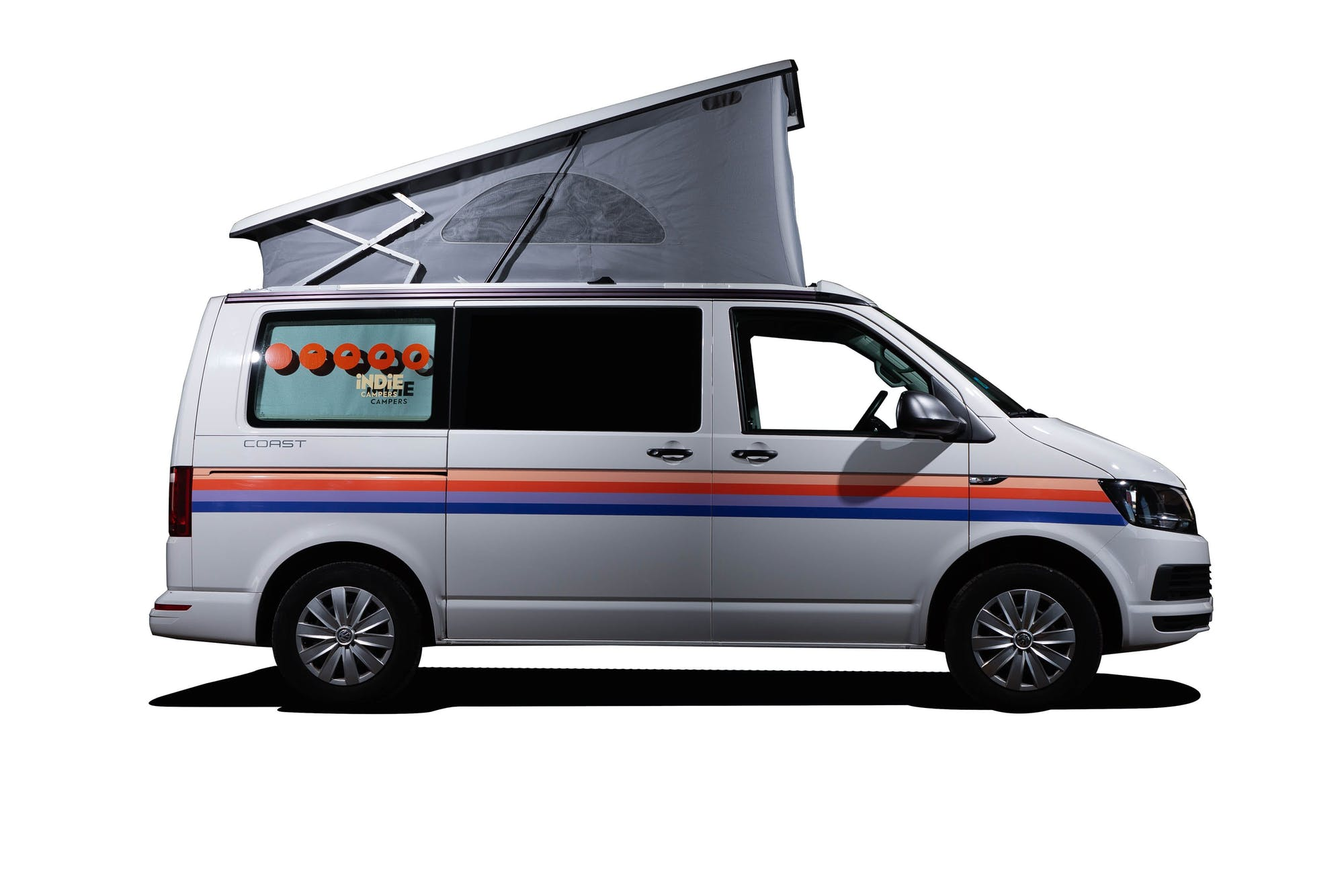 Side view of the VW California Model