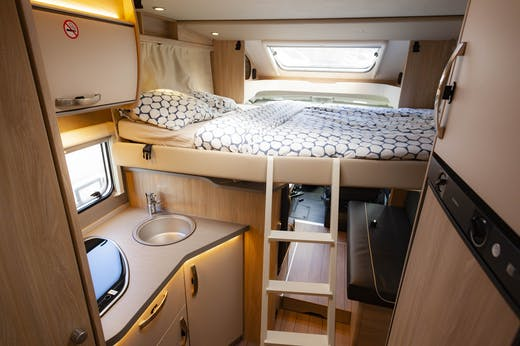 Second double bed of the Atlas Model