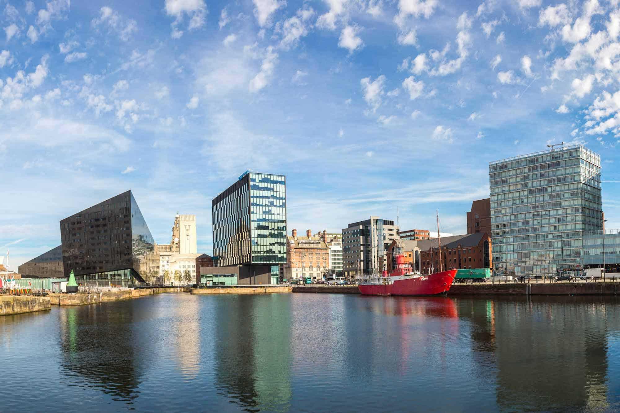 Leie bobil i Liverpool