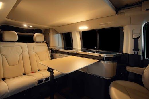 Marco Polo Model's interior