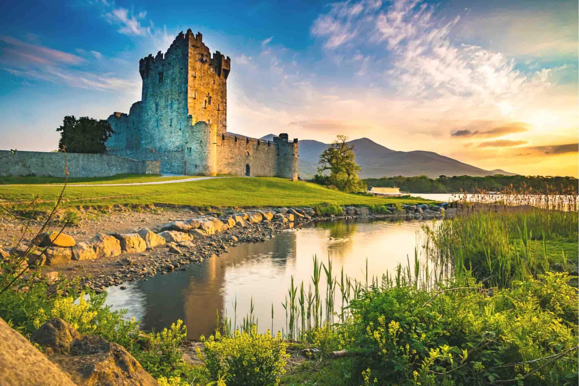 Leie bobil Irland