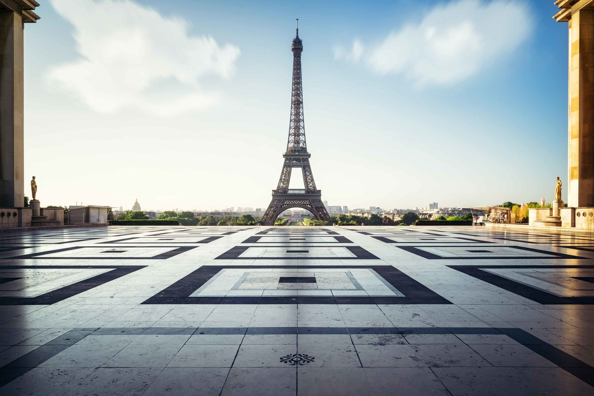 Eiffel Tower is a must in a Paris Road Trip