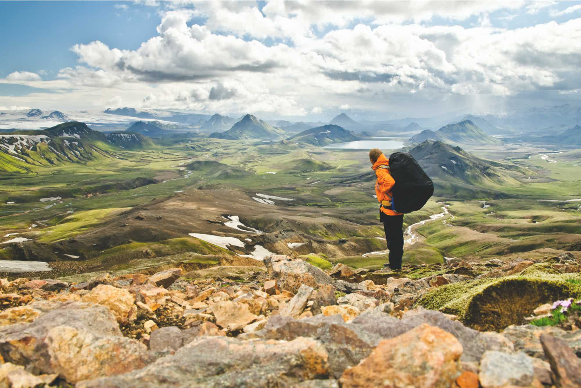 Campervan hire Iceland