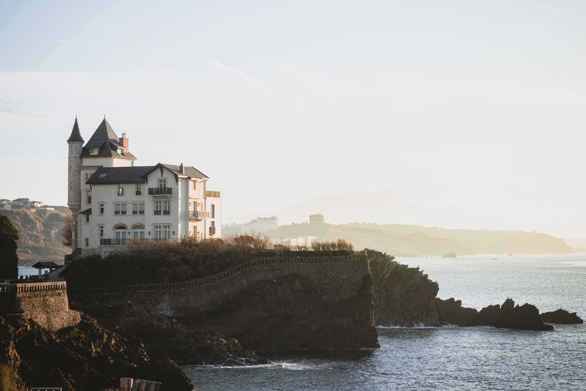 House in Biarritz, one of the Bordeaux Road Trip destination