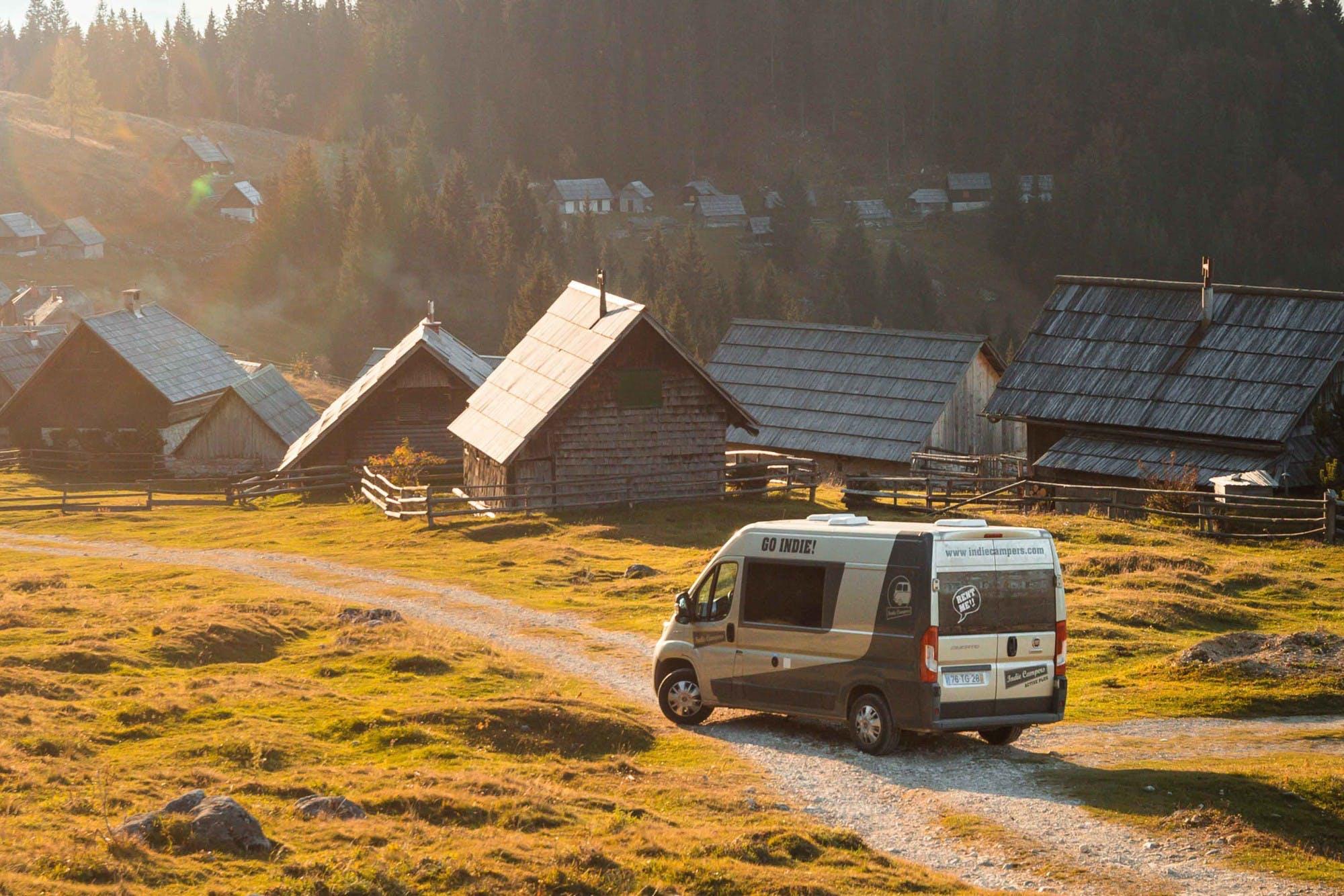 Indie campervan for hire